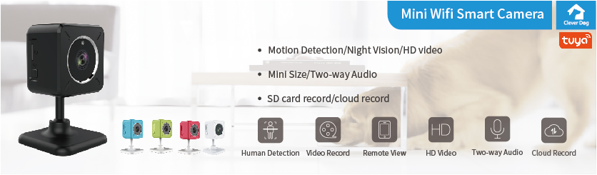 Cleverdog Mini Wifi Camera is coming soon